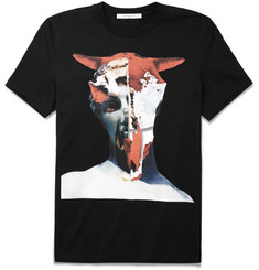 Givenchy Cuban-Fit Skull-Print Cotton T-Shirt