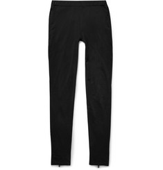Givenchy Zipped Cotton Leggings