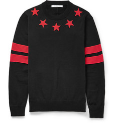 Givenchy Embroidered Star Sweater