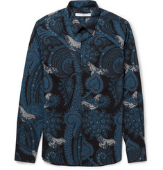 Givenchy Paisley and Moth-Print Cotton Shirt