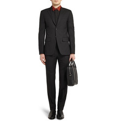Givenchy Black Slim-Fit Wool Suit