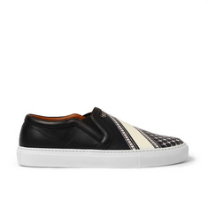 Givenchy Skate Shoes in Bandana-Print Leather