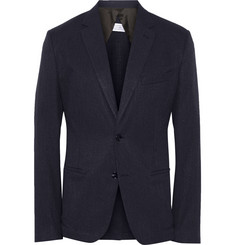 Maison Margiela Slim-Fit Cotton and Silk-Blend Canvas Blazer