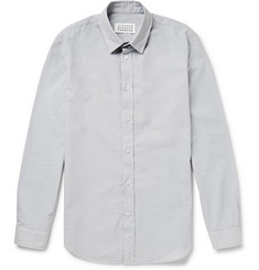 Maison Martin Margiela Garment-Dyed Cotton-Poplin Shirt