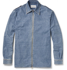 Maison Margiela Washed-Denim Overshirt