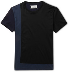 Maison Margiela Panelled Cotton T-Shirt