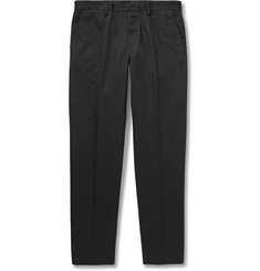 Maison Martin Margiela Slim-Fit Brushed-Twill Trousers