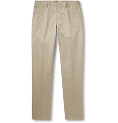 Maison Margiela Slim-Fit Cotton and Linen-Blend Chinos