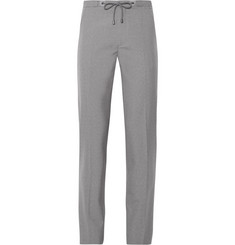 Maison Martin Margiela Slim-Fit Drawstring-Waist Wool Trousers