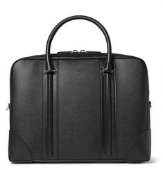 Givenchy Small Pebble-Grain Leather Briefcase