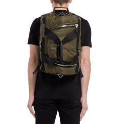 Givenchy Convertible Leather-Trimmed Backpack