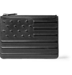 Givenchy Embossed-Leather Pouch