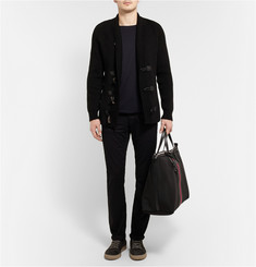 Gucci Leather-Trimmed Canvas Holdall