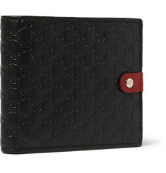 Gucci Embossed Leather Billfold Walllet