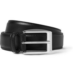 Gucci Black 3cm Leather Belt
