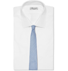 Gucci Linen and Silk-Blend Tie