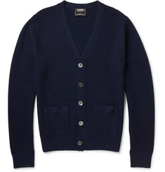 Todd Snyder Textured-Knit Wool Cardigan