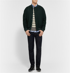 Todd Snyder Striped Knitted Merino Wool Sweater