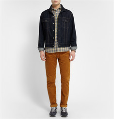 Billy Reid John T Checked Flannel Shirt