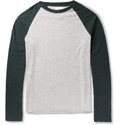 Billy Reid Cotton-Blend Raglan-Sleeve T-Shirt