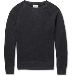 Billy Reid Ribbed-Jersey Cotton-Blend Sweatshirt