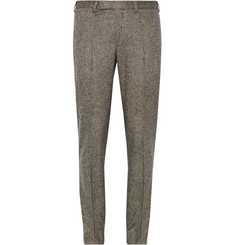 Billy Reid Grey Dalton Slim-Fit Wool and Cashmere-Blend Tweed Suit Trousers