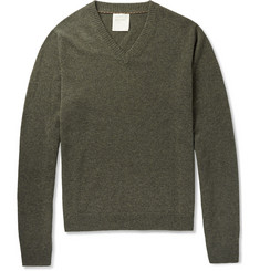 Billy Reid V-Neck Cashmere Sweater