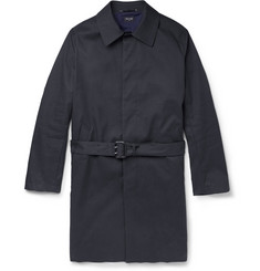 PS by Paul Smith Showerproof Cotton-Blend Trench Coat