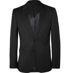 PS by Paul Smith Slim-Fit Wool-Jacquard Suit Jacket