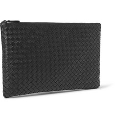 Bottega Veneta Intrecciato Leather Pouch