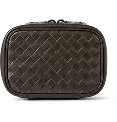 Bottega Veneta Intrecciato Leather Travel Cufflink Case
