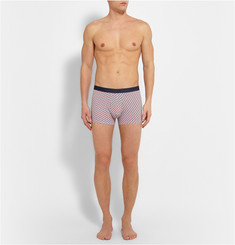 Derek Rose Printed Stretch-Pima Cotton Boxer Briefs