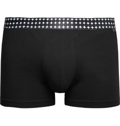 Derek Rose Band Stretch Pima Cotton-Jersey Boxer Briefs