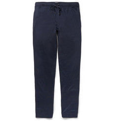 Derek Rose Toby Cotton-Blend Lounge Trousers