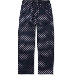 Derek Rose Nelson Lifebuoy-Printed Pyjama Trousers