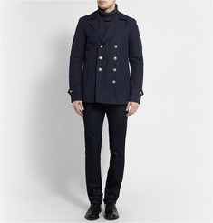 Gucci Cotton-Blend Peacoat