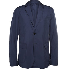 Gucci Blue Lightweight Shell Blazer