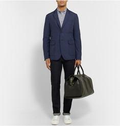 Gucci Navy Lightweight Shell Blazer