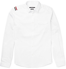 Gucci Slim-Fit Shoulder-Tab Cotton Shirt