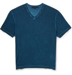 Gucci V-Neck Lightweight Jersey T-Shirt
