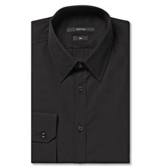 Gucci Black Cotton-Poplin Shirt