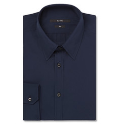 Gucci Navy Cotton-Poplin Shirt
