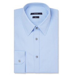 Gucci Blue Cotton-Poplin Shirt