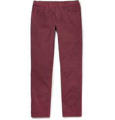 Gucci Slim-Fit Cotton-Blend Twill Trousers