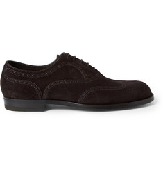 Bottega Veneta Suede Oxford Wingtip Brogues