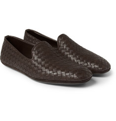 Bottega Veneta - Intrecciato Leather Slippers