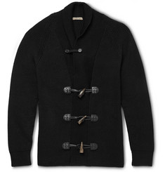 Bottega Veneta Cotton-Blend Shawl-Collar Cardigan