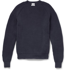 Paul Smith Ribbed Cotton-Blend Sweater