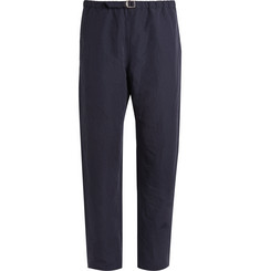 Paul Smith Striped Cotton-Blend Trousers