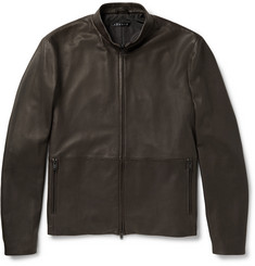Theory Arvid Leather Jacket